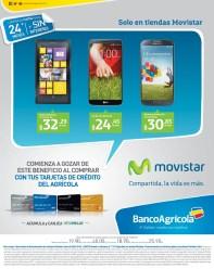 MOVISTAR el salvador promocion tarjetas BANCO AGRICOLA - 06mar14