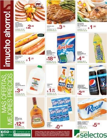 Mas ofertas promociones Descuentos SUPER SELECTOS - 13mar14