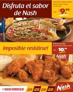 Pan pizza grande deluxe NASH domicilio - 22mar14