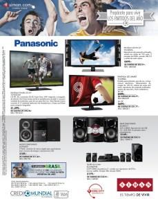 Pantallas Equipos de Sonido PANASONIC ofertas SIMAN - 17mar14