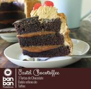 Pastel de CHOCOLATE BAN BAN pasteleria