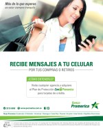 Plan de proteccion ALERTAS en tu movil Banco Promerica