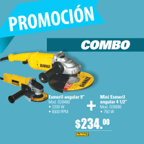 Promocion FREUND combo DeWalt esmeril angular - 07mar14