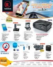 Proyector 300 lumenes BENQ moviles tablet router RADIOSHACK el salvador - 21mar14