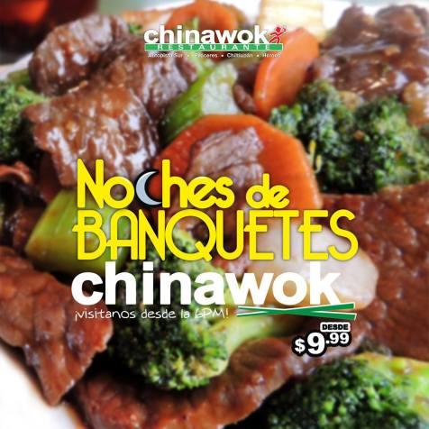 Restaurante Chinawok EL SALVADOR noches de banquetes