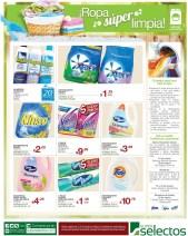Ropa super limpia ofertas lavanderia SUPER SELECTOS - 17mar14