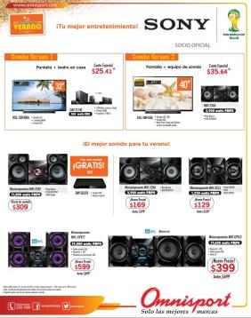 SONY componet AUDIO ofertas omnisport - 13mar14