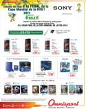 SONY xperia SONY play station PROMOCIONES omnisport sv - 22mar14