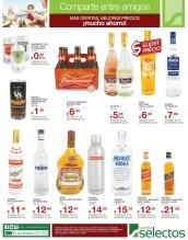 SUPER precios ofertas y descuentos en BEBIDAS super selectos - 15mar14