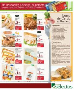 Tarjetas Banco DAVIVIENDA descuento SUPER SELECTOS - 12mar14