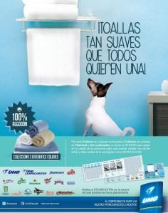 Toallas suaves gracias a Gasolineras UNO el salvador - 21mar14