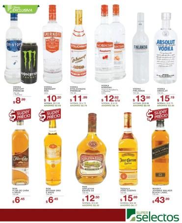 Variedad en RON Vodka Whisky Tequila SUPER SELECTOS - 07mar14
