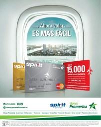 aerolinea economica SPIRIT airlines promocion BANCO PROMERICA