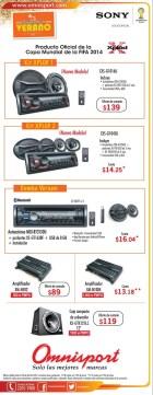 car stereo car system audio video OMNISPORT - 15mar14