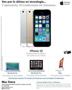 iPhoe 5S desbloqueado de fabrica mac store el salvador - 29mar14