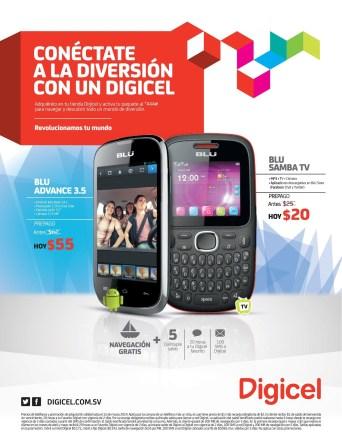 navegancion internet GRATIS con moviles BLU Digicel el salvador - 10mar14