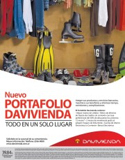nuevo Portafolio de servicios bancarios financieros DAVIVIENDA el salvador - 10mar14