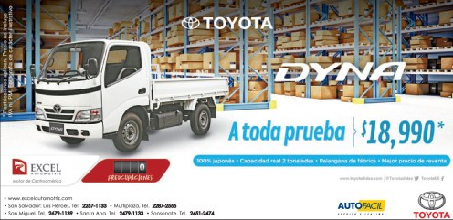truck TOYOTA DYNA a todaq prueba SAVINGS