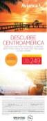 Avianca.com ofertas VUELOS a centroamerica - 30abr14