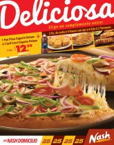 Deliciosa PIZZA nash a domiclio - 05abr14