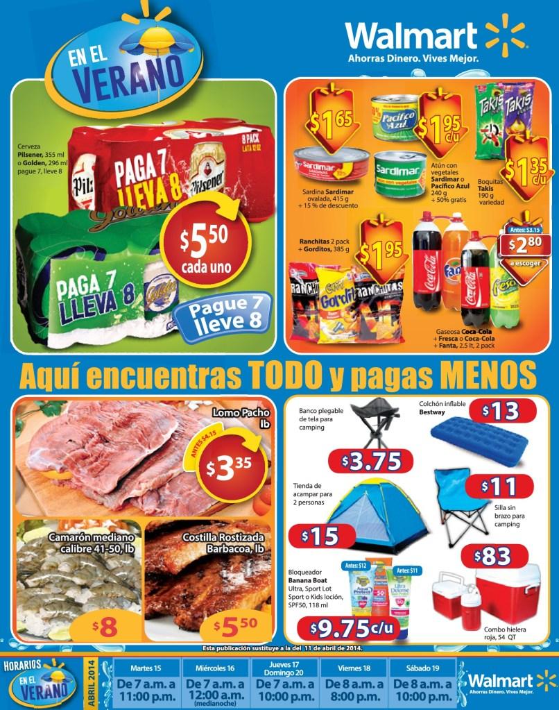 Lo productos que necesitas en semana santa WALMART - 15abr14