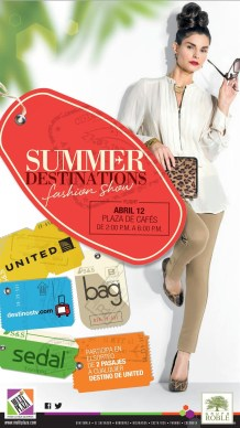 SUMMER Destinations fashion show MULTIPLAZA - 11abr14