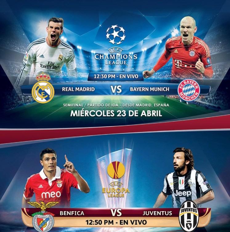 UEFA champion league REAL MADRID vs BAYER MUNICH