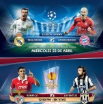 UEFA champion league REAL MADRID vs BAYER MUNICH