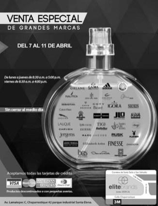 Venta especial de MARCAS eltite BRANDS - 04abr14
