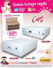 Zapatera de Madera GRATIS por tus compra de camas CAPRI - 29ab14