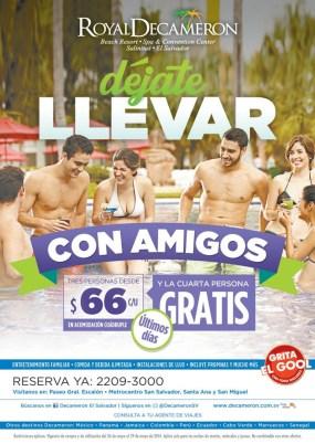 BEACH party with FRIEDS royal decameron EL SALVADOR salinitas - 26may14