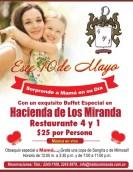 Buffet especial para MAMA hacienda de los miranda - 09may14