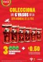 COCA COLA Colecciona los vasos de la copa mundial de la fifa
