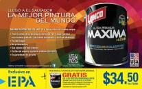 Colores mas intensos PINTURA LANCO high definition ferreteria EPA - 26may14