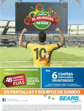 Disfruta el mundial brasil fifa 2014 SEARS - 10may14