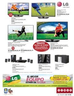 El mejor equipo en tu casa LG productos - 08may14