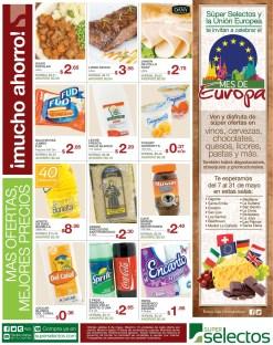 Mes de Europa PROMOCION super selectos - 08may14