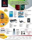 More technology for WORD CUP Brasil 2014 RadioShack - 02may14