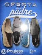 PAYLESS shoesource OFERTA dia del PADRE 2014