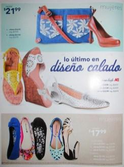 PAYLESS shoesource lo ultimo en diseño calado para MUJERES - 31may14