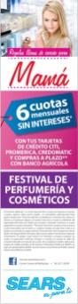 Perfumeria Cosmeticos y Joyeria para MAMA sears - 09may14