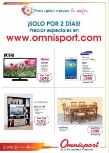 Precios epeciales OMNISPORT.com solo dos dias - 08may14