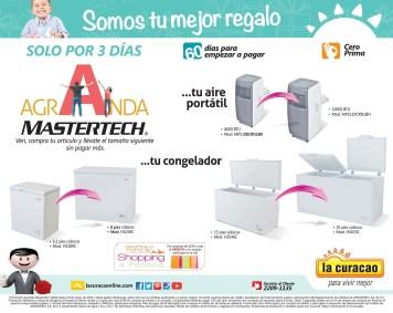 Prmocion agranda tus electrodomestico MASTERTECH - 06may14