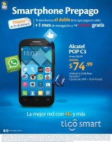 Rebajado smartphone ALCATEL POP C3 ofertas tigo - 16may14