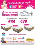 Todas las camas al mismo precios KING KOIL bed spine support - 07may14
