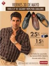 VIP SALE calzado y ropa para caballeros SIMAN - 30may14