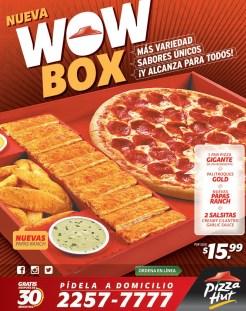 WOW BOX promotion pizza hut - 16may14