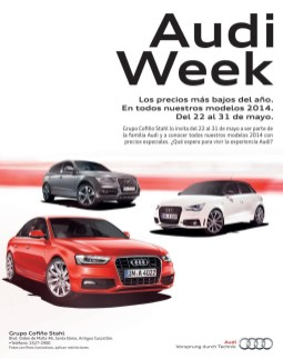 car promotions AUDI 2014 week sale - 22may14