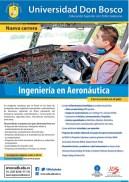 estudia Ingenieria en Aeronautica Universidad DON BOSCO
