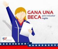 gana una BECA para estudiar ingles US Embassy